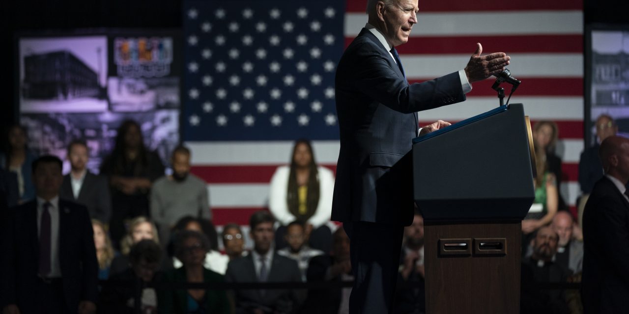 Biden prioritizes US voting rights law as restrictions mount